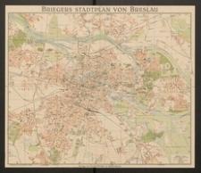 Briegers Stadtplan von Breslau