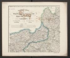 General-Karte vom westlichen Russland, Preussen, Posen, Galizien Entworfen und gezeichnet von F. Handtke