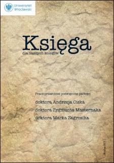 O Andrzeju Cisku