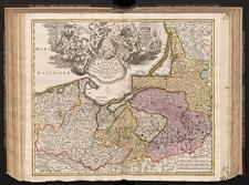 Regnum Borussiae [...] Friderici III Primi Borussiae Regis, March. et Elect. Brand [...] Geographice cum vicinis Regionibus adumbratum a Ioh. Baptista Homanno.