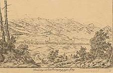 Schmiedeberg, nebst dem Riesengebirge gegen Mittag