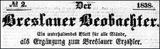 Der Breslauer Beobachter. Ein unterhaltendes Blatt für alle Stände, als Ergänzung zum Breslauer Erzähler. 1838-12-29 Jg. 4 Nr 156
