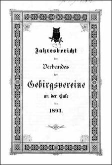 Jahresbericht des Verbandes der Gebirgsvereine an der Eule für 1893