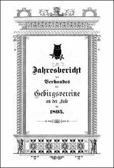 Jahresbericht des Verbandes der Gebirgsvereine an der Eule für 1895