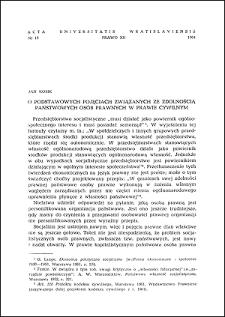 O podstawowych pojęciach związanych ze zdolnością państwowych osób prawnych w prawie cywilnym