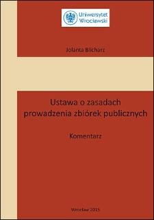 Ustawa o zasadach prowadzenia zbiórek publicznych : komentarz