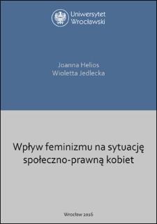 Wpływ feminizmu na sytuację społeczno-prawną kobiet