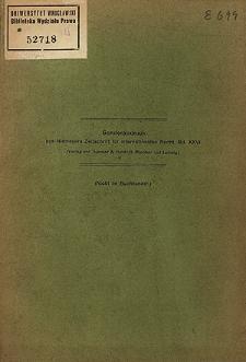 Die Besetzung Lembergs im Kriege 1914/15 : zugleich ein Beitrag zur Prinzipienlehre des internationalen Rechts