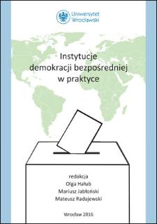 Instytucje demokracji bezpośredniej w praktyce