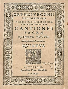 Cantiones sacrae quinque vocum [...]