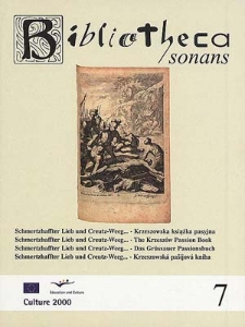 Schmertzhaffter Lieb und Creutz-Weeg... - Krzeszowska książka pasyjna