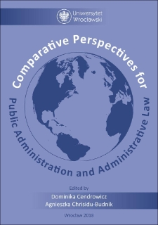 Comparative Perspectives for Public Administration and Administrative Law
