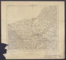 Karte des Deutschen Reiches 1:100 000 - 86. Rostock