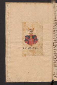 Genealogische Nachrrichten ueber die Familie Kiesenwetter. Bd. 7