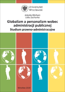 Globalism and personalism in the presence of public administration. Legal-administrative study