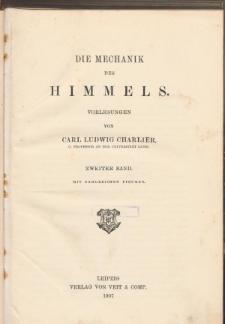 Die Mechanik des Himmels. Bd. 2